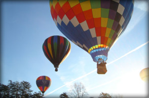 Balloon Ride over the Fingerlakes