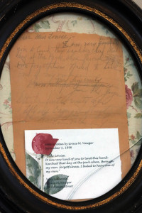 Letter written by Grace Yawger